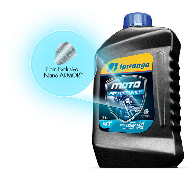 Com exclusivo Nano ARMOR